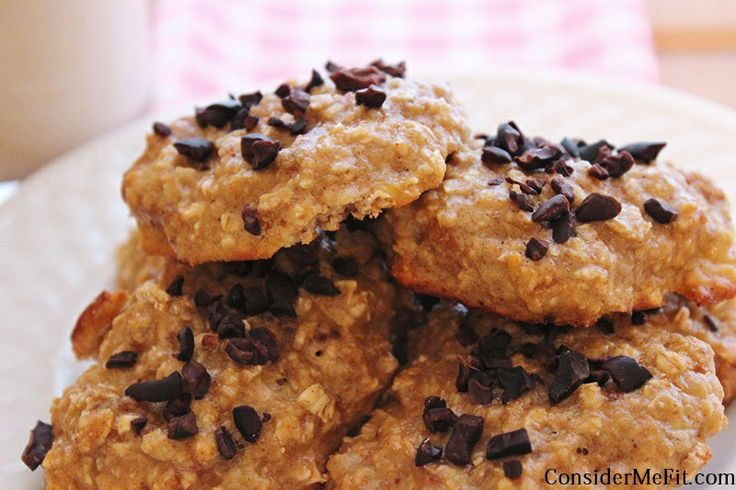 High Protein, Healthy Oat Meal Cookies | Abs are Made in the Kitchen ...