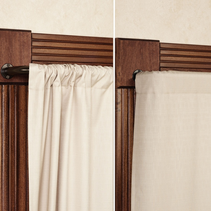 Wrap Around Window Curtain Rod Energy Efficient Curtain Rods