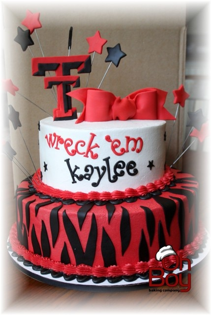 Texas Tech cake  Birthday & Other Occasion Cakes!  Pinterest