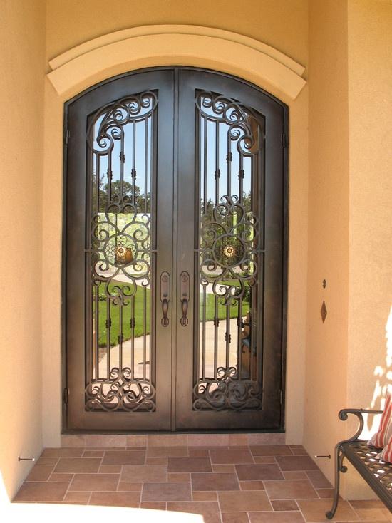 Mediterranean Entry Front Door Design For The Home