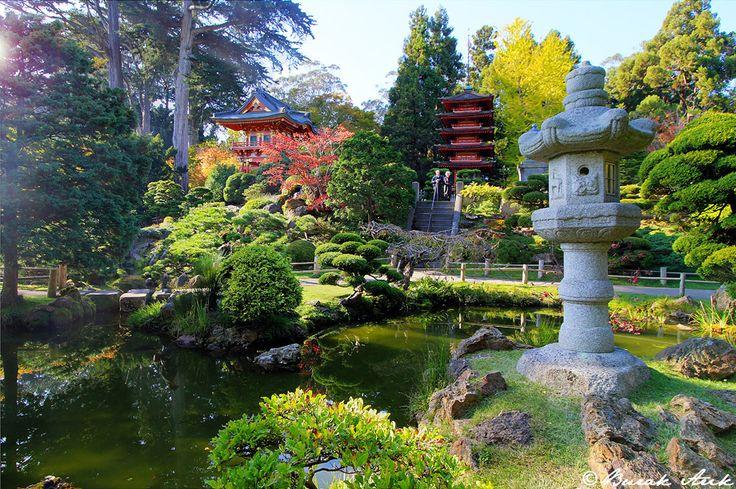 Japanese Tea Garden San Francisco California Nowhere Left To Hid