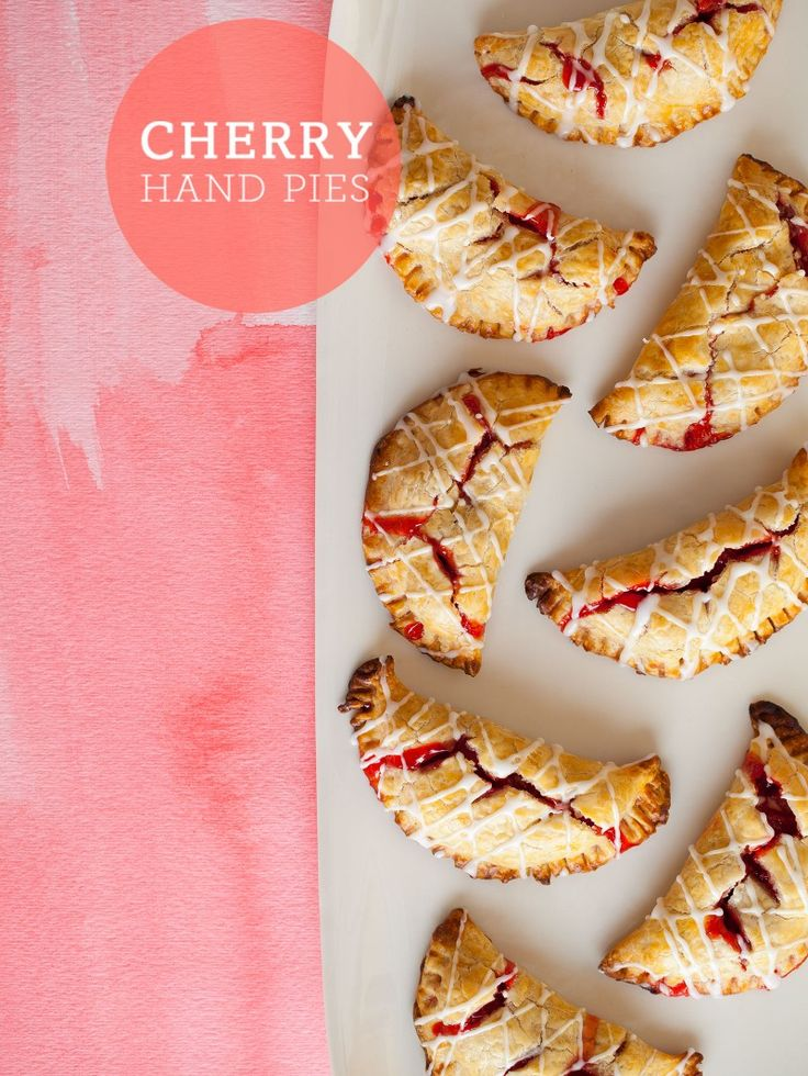 Cherry Hand Pies | Sweet treats | Pinterest