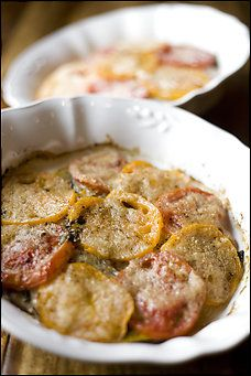 ... lot of vegetables this summer to try this: Summer Vegetable Gratin