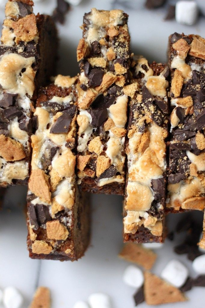 Kahlua Caramel S'mores Banana Bread. | Great looking food and recipes ...