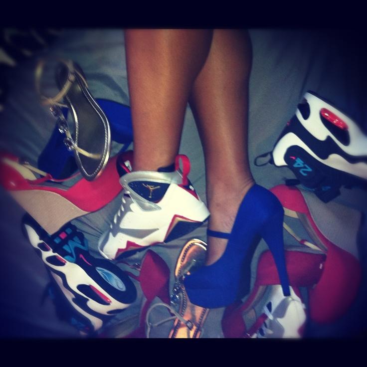 jordans heels sneakerhead griffeys sneakers pinterest