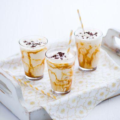 Caramel Coconut Milk Shake