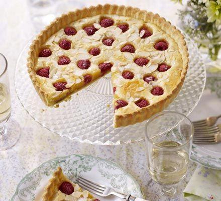 Raspberry almond tart recipe - Recipes - BBC Good Food