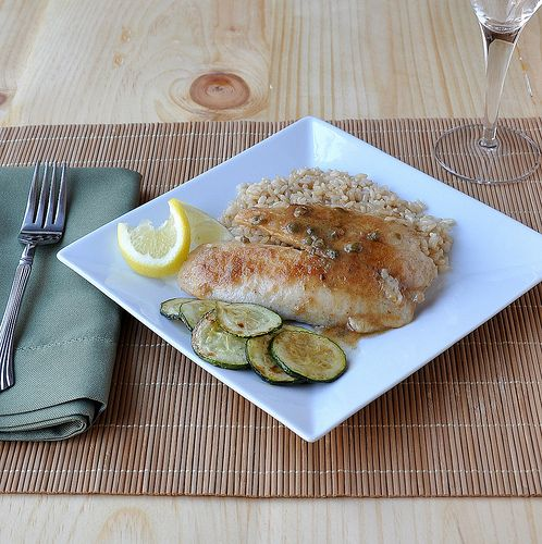 Tilapia Piccata ~ The Way to His Heart