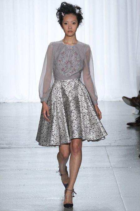 Zac Posen Spring 2014 Ready-to-Wear Collection #NYFW