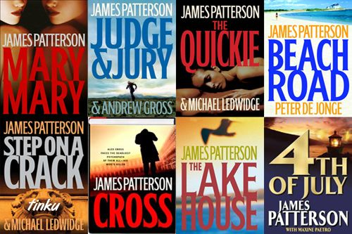 James Patterson books!!!! +++