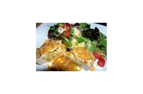... News | Savory Stuffed Chicken Breasts With Artichoke and Herb Salad