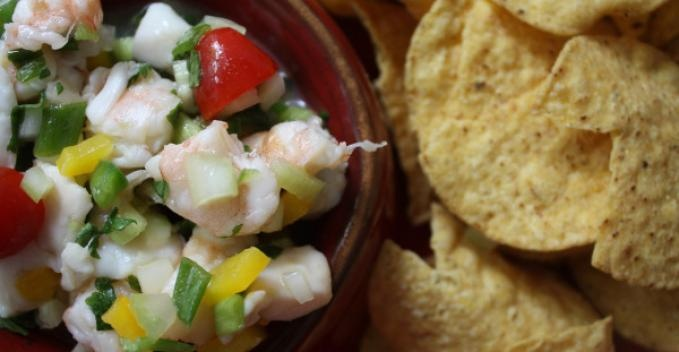 Shrimp and Scallop Ceviche | Food | Pinterest
