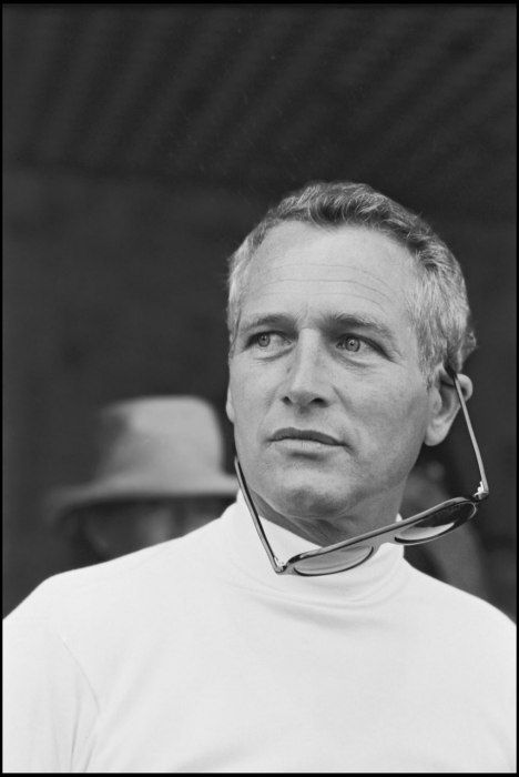 Paul Newman, Cannes, 1973  Photograph by Daniel Angeli