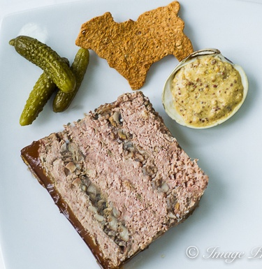 Rustic Lambs And Clams Pate With Cognac Gelee Recipe — Dishmaps