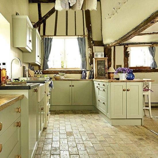 flooring period farmhouse kitchen king kitchen pinterest