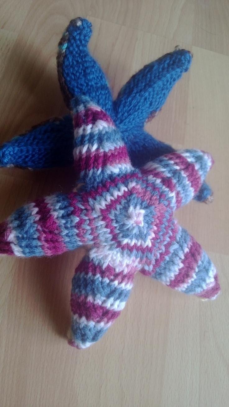 Amigurumi Starfish Pattern : Knit Starfish Knitting and other crafts Pinterest