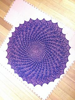 Queen Anne's Lace Shawl