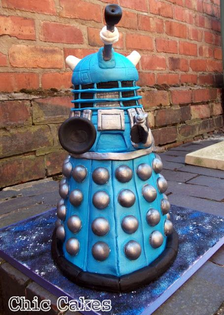Daleks of the Day: Dalek Cake of the Week