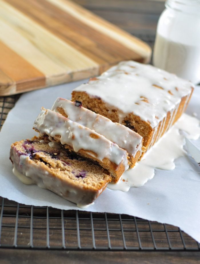 Blueberry Zucchini Bread: made with whole grains, without refined ...