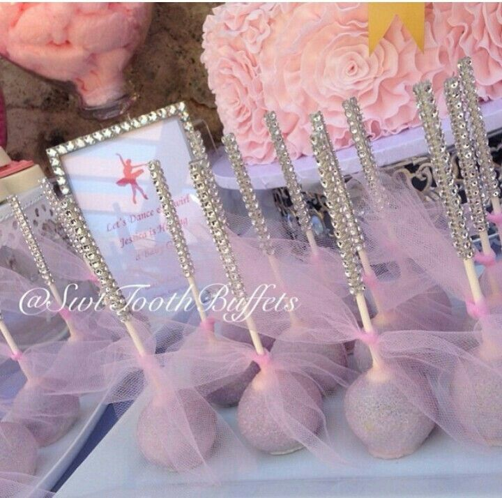 ballerina theme baby shower themes pinterest