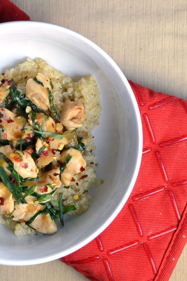 Spicy Basil Chicken | windykitchen | windykitchen | Pinterest