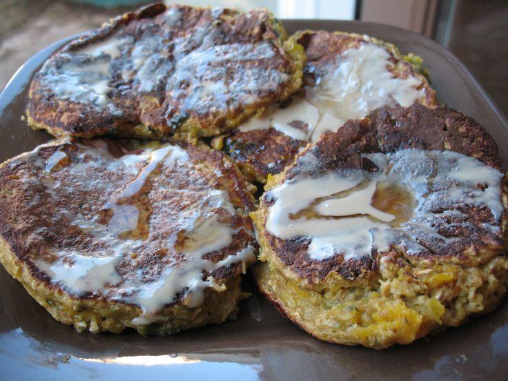 Kabocha Squash Pancakes | Winter Squash | Pinterest