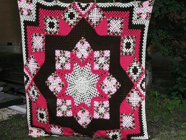 Crochet Afghan Patterns Quilt : crochet Crochet Patchwork Quilt Afghans Pinterest