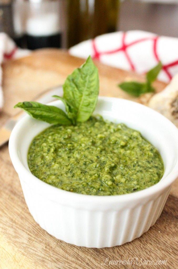 Arugula Walnut Basil Pesto - Easy - Clean - Heart Healthy - Spread ...