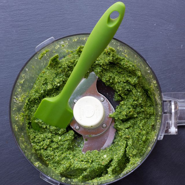 Lighter Pesto Recipes — Dishmaps