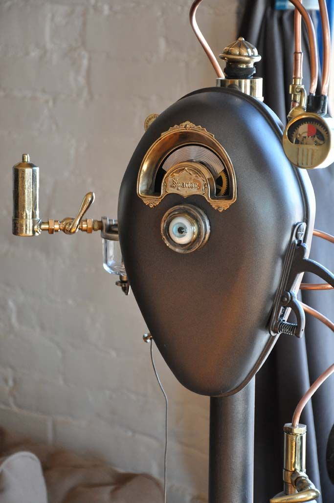 SP-PM Prototype by Bruce Fowler (Steampunk parking meter)