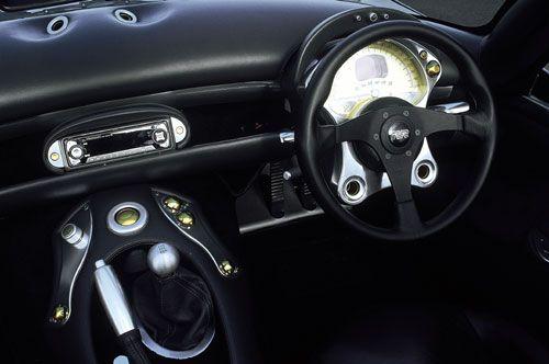 TVR Tuscan S - interior