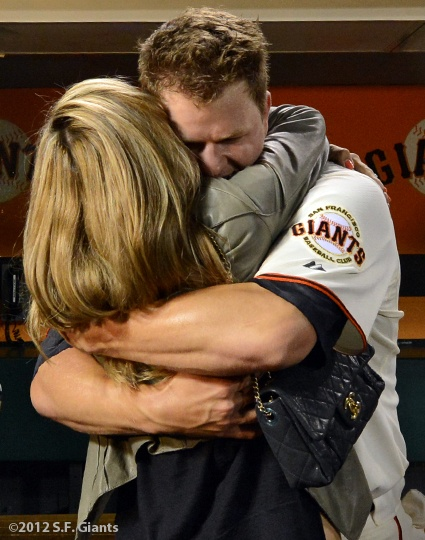 Mr. & Mrs. Cain after perfect game 6/13/12
