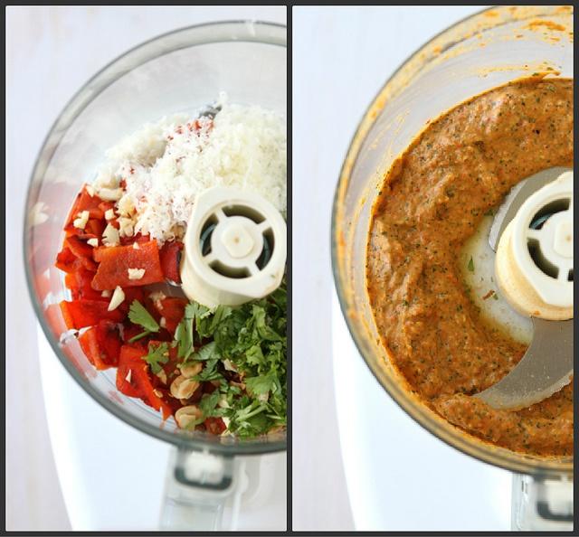 Grilled Marinated Tri-Tip Steak Recipe with Red Pepper Cilantro Pesto ...