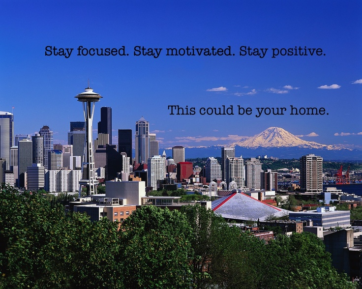 Stay Positive. Move to Seattle.