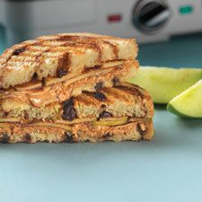 grilled peanut butter and apple sandwich a yummy kind of a peanut ...