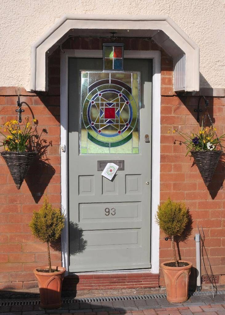1930s front door project stained glass for the home for 1930s front door styles