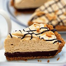 Black-Bottom Peanut Butter Mousse Pie Recipe