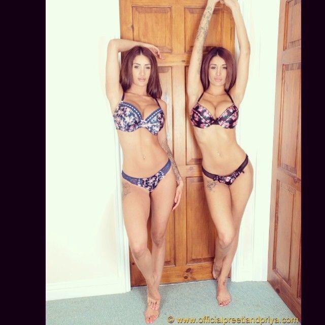 priya young twins Preeti and