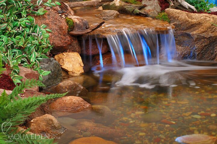 Ponds and waterfalls bing images gardening pinterest for Ponds and waterfalls