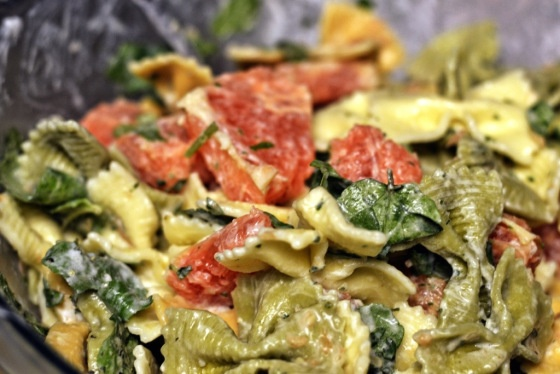Grapefruit and Watercress Pasta Salad | Food for Thought | Pinterest