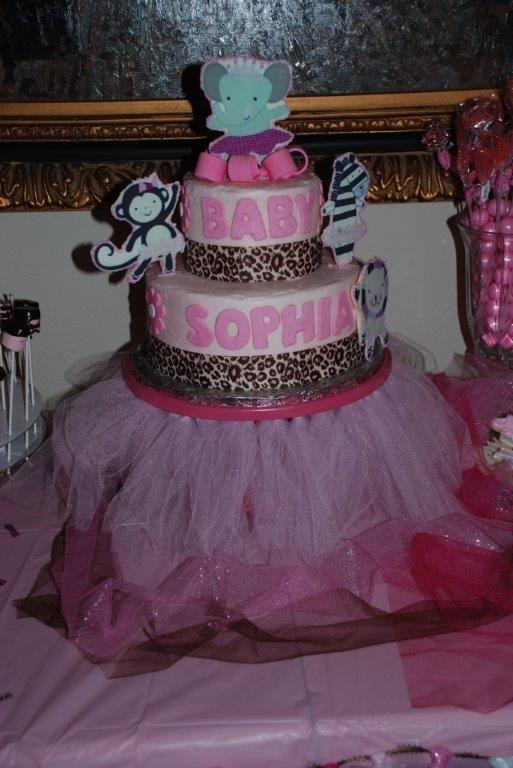 tutu baby shower cake baby shower pinterest