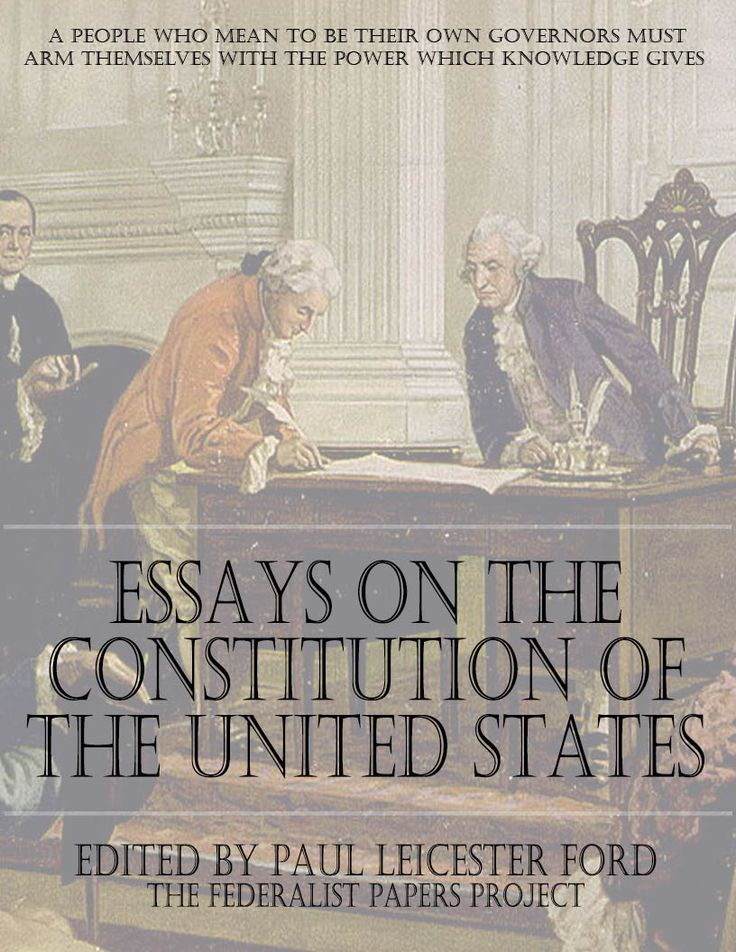 Federalist papers summary of each