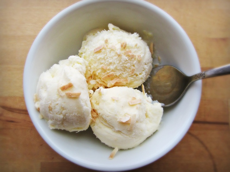 Pineapple-Coconut Gelato | Indulge | Pinterest