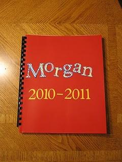 kids school folders keepsakes