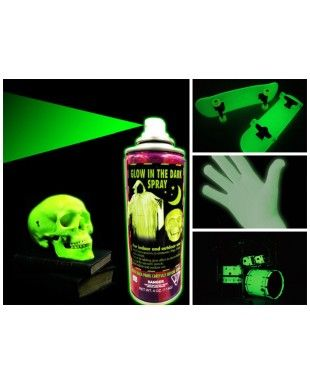 com invented4you shop products glow in the dark spray paint spray. Black Bedroom Furniture Sets. Home Design Ideas