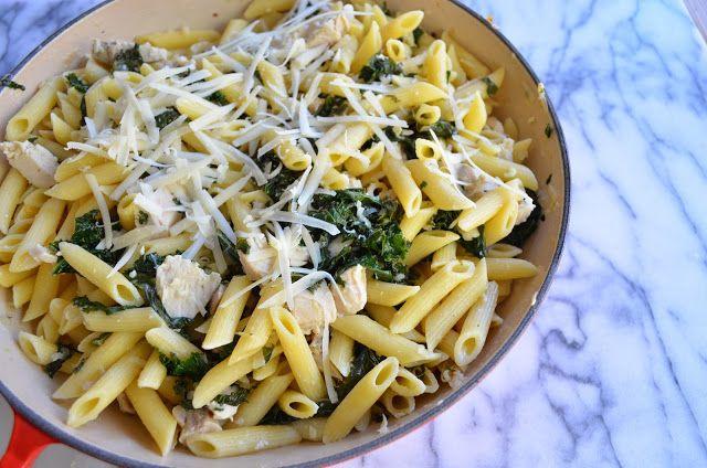 Turkey and Kale Penne   Food - Pasta   Pinterest