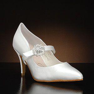 ELEGANCE Wedding Shoes and ELEGANCE Dyeable Bridal Shoes WHITE, IVORY