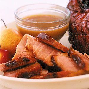 Holiday Ham with Cider Glaze | Recipe