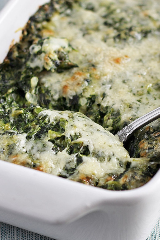 creamed spinach gratin can t wait to make i mean eat pinterest
