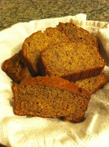 Peanut Butter Banana Bread | Food | Pinterest